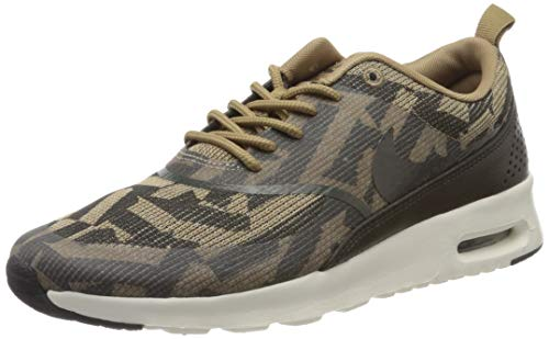 Nike Air MAX Thea Kjcrd Wmns 718646-200, Zapatillas Mujer, Marrón (Brown 718646/200), 35.5 EU