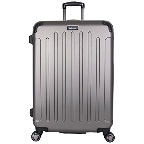 Kenneth Cole Reaction Renegade 28' ABS Expandable 8-Wheel Upright, Silver, inch Checked