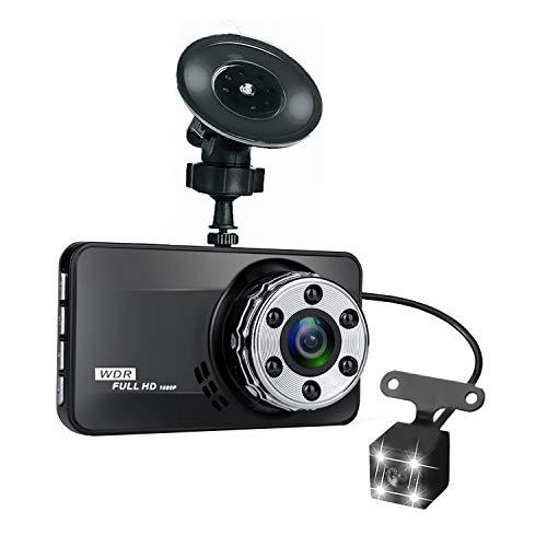 Ctzrzyt Auto DVR Dash Cam DVR Dash Kamera Videorecorder Auto Registrator 3-Zoll-LCD-Bildschirm HD 1080P Fahren DVR/Dash-Kameras