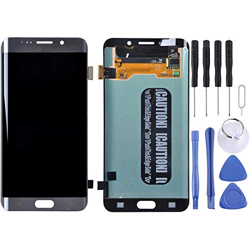 Accessory Kits - Digitalizador de pantalla táctil para Galaxy S6 Edge+, G928, G928F, G928G, G928T, G928A, G928I (color: gris)