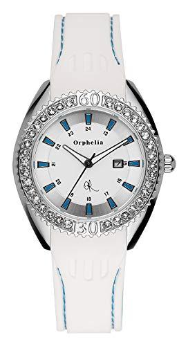Orphelia Damen-Armbanduhr Playful Analog Quarz Silikon