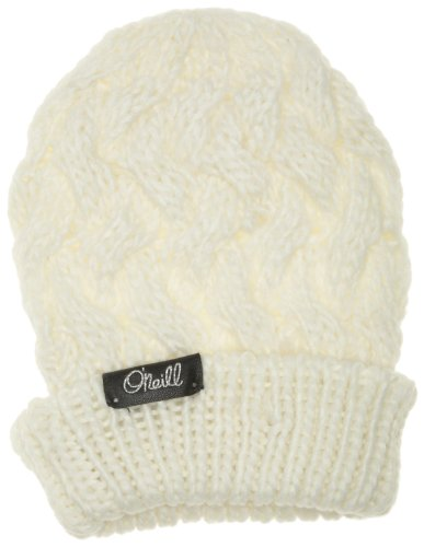 ONEILL Cable Beanies - Gorro para Mujer, Mujer, Cable Beanies, Powder White, Talla única