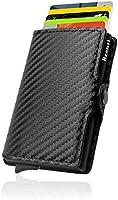 Portafoglio Bronzi® Porta Carte Credito - Portafoglio Uomo Slim Portacarte uomo - Mini Porta Tessere - Protezione RFID...