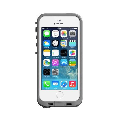 LifeProof 2117-02 - Fre Case - Custodia impermeabile per Apple iPhone 5/5S, Colore: Bianco