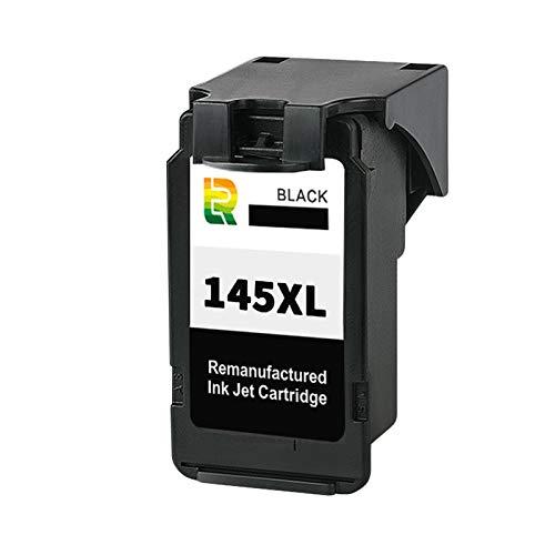 Cartuchos de tinta PG145XL CL146XL, repuesto para impresora de inyección de tinta Canon IP2810, MG2410, MG2510, MG2910, MG3010, TS3110, de alto rendimiento, compatible con negro y color negro