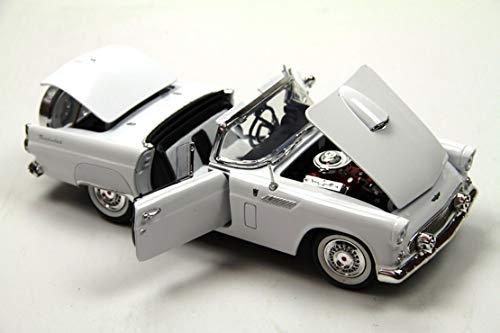 Motormax - 73176w - Ford - Thunderbird Hard Top - 1956 - Échelle 1/18 - Coloris aléatoire