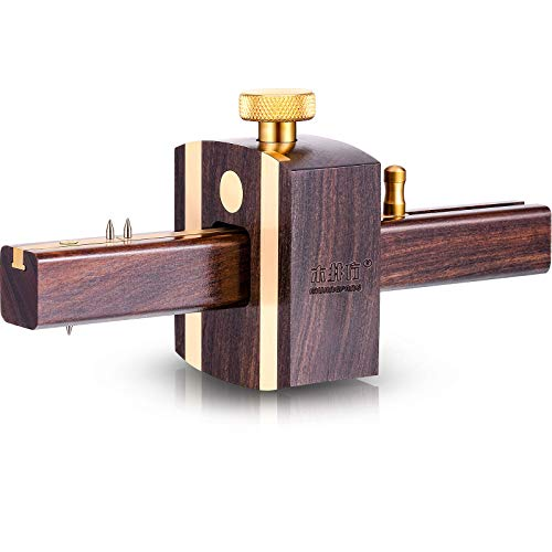 Mortise Gauge Woodworking Marking Gauge Ebony Mortise Square Gauge 6.4