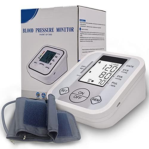 RONGXI Kit De Cuidado De La Salud del Hogar, Monitor de presión Arterial Brazo Superior Tensiómetro Digital Tensiómetro automático Eletronicos armthm BP Máquina saturometro