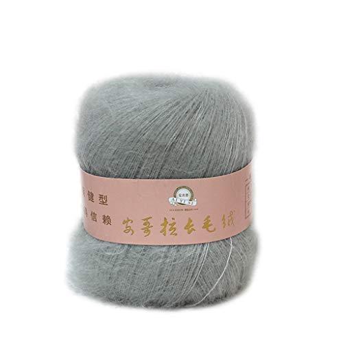 Bogji-Soft Mohair Cashmere breiwol garen DIY sjaal haakkwerk Thread Supplies(23) Eén maat 5