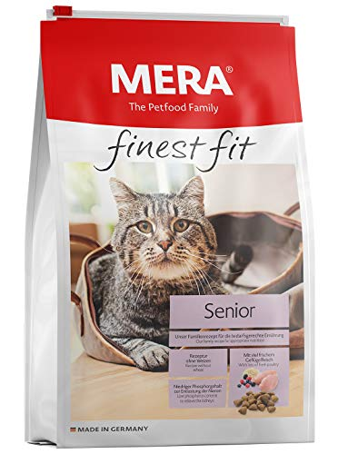 Mera Dog Katzenfutter Finest Fit Senior, 4 kg