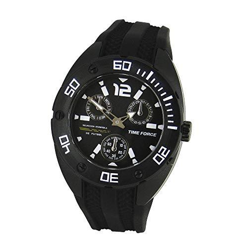 TIME FORCE Reloj Analógico para Niños de Cuarzo con Correa en Caucho TF-4144B11