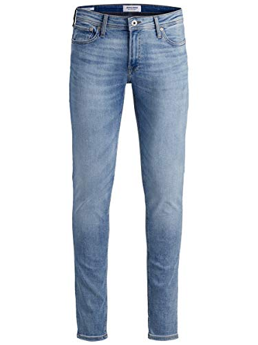 JACK & JONES Herren Skinny Fit Jeans Liam ORIGINAL AM 792 50SPS 3230Blue Denim