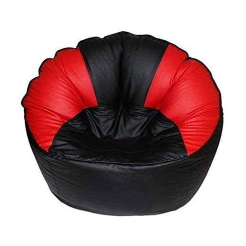 Wondrous Nv Bean Bag Sofa Mudda Cover Red Black Original Xxxl Inzonedesignstudio Interior Chair Design Inzonedesignstudiocom