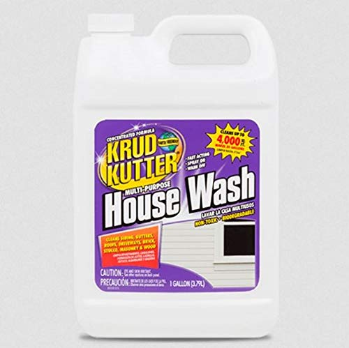 Krud Kutter HW012 Multi-Purpose House Wash , 1 Gallon (Pack of 1)