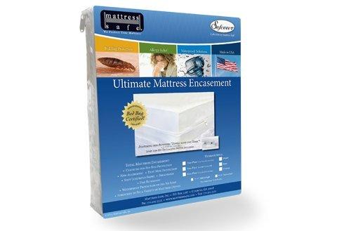 KleenCover Ultimate Zippered Mattress Cover Encasement - Allergen Safe...