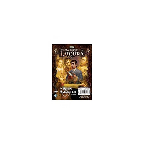 Fantasy Flight Mansions Of Madness The Yellow Sign Expansion Board Game