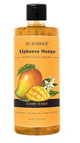 ST. D'VENCE Alphonso Mango Body Wash With Vanilla Beans (500 Ml), 500...