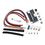oshhni Mini DIY Spot soldador Set portátil 100-200A para batería de litio 18650/26650/32650
