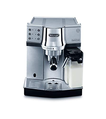 De'Longhi EC 850.M Espressomaschine / Siebträger / IFD Milchschaumsystem / 15 Bar / Metall, silber