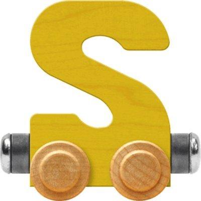 메이플 랜드마크 네임트레인 브라이트 레터 카 S-MADE IN USA(옐로우)