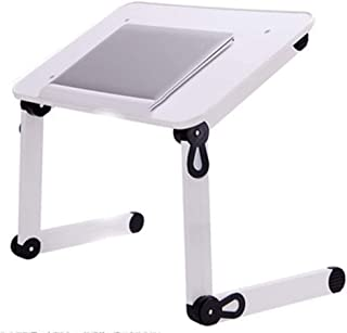Comfortable Folding Laptop Table Stand For Bed,lifting Bracket Adjustable Laptop Tray Standing Desk Computer Riser, Outdoo...