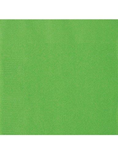 COOLMP 20 Serviettes en Papier Vert Citron 33 x 33 cm - Taille Unique - Décoration et Accessoires de fête, Animation Festive, Anniversaire, Mariage, événement, Jouet, Cotillon