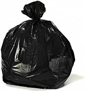 "Plasticplace 55-60 Gallon Trash Bags │ 1.2 Mil │ Black Heavy Duty Garbage Can Liners │ 38"" x 58"" (100Count)"