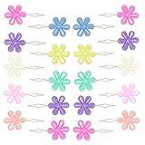 Riddur Nadeln Einfädler Set, 20 Stücke Perlen Einfädler, Blume Einfädler, Nadeleinfädler Set...