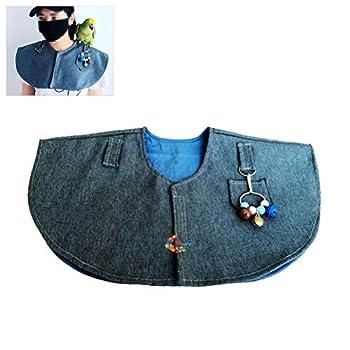 Épaulières pour perroquets, écharpe d'épaule anti-rayures pour perroquet Coussin de protection d'épaule multifonctionnel pour oiseaux Couche-couche pour oiseaux Écharpe d'épaule