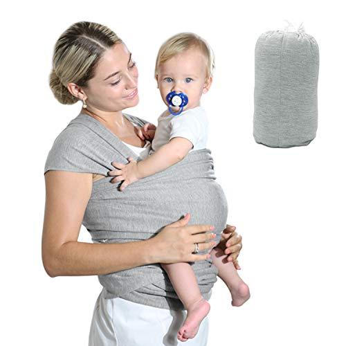HyAdierTech Fascia Porta Bambino Facile da Indossare, Neonato Regali, Fascia Per Neonati, Cotone Asettico Di Alta Qualità per Neonati e Bambini Fino a 16 kg, Morbido e Confortevole