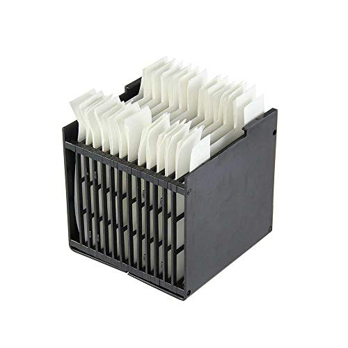 Filtro per Mini Condizionatore Portatile, Arctic Air Cooler, Personal Space Condizionatore, Portatile Raffreddatore Parti, Sostituzione della Cartuccia Evaporativa Filtro, 4,72 x 4,3 x 4,3 pollici
