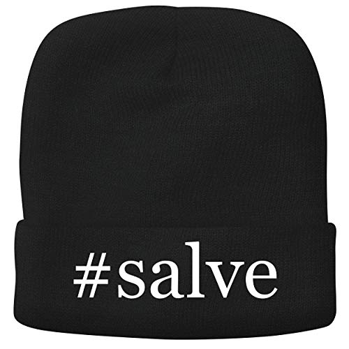 BH Cool Designs #Salve - Adult Hashtag Comfortable Fleece Lined Beanie, Black