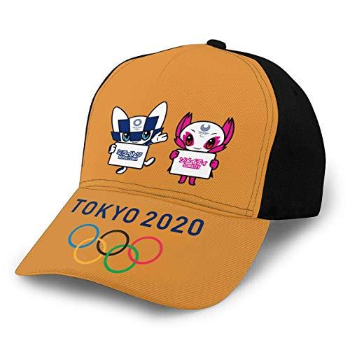 NR 2020 Tokyo Olympics Mascot A de ala curvada gorra de béisbol ajustable para mujer