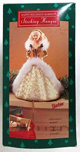 Happy Holidays Barbie Stocking Hanger