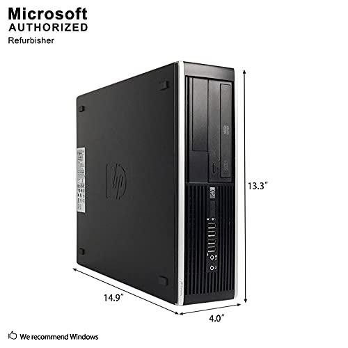 HP Flagship Pro computadora de escritorio 2018, Core I5 hasta 3,6 GHz, 8 GB, 512 GB SSD, WiFi, DVD, DP, VGA, USB 3.0, Windows 10 Pro 64 bit-Multi Idioma/Inglés/Español/Francés (CI5) (Enewed)