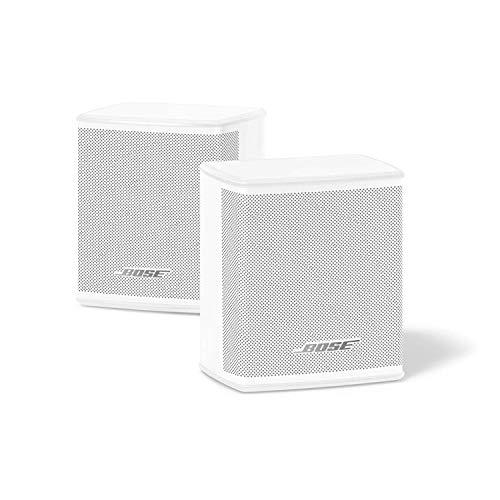 Bose - Soundbar700, weiß + Lautsprecher Bass Module 500, schwarz + Surround Speakers, weiß