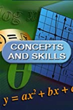 McDougal Littell Concepts & Skills: Answer Transparencies For Checking Homework Geometry