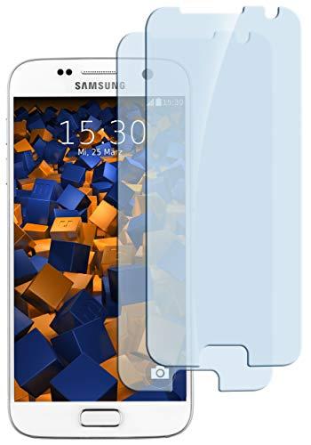 mumbi ECO Hart Glas Folie kompatibel mit Samsung Galaxy S7 Panzerfolie, Schutzfolie Schutzglas (2X)