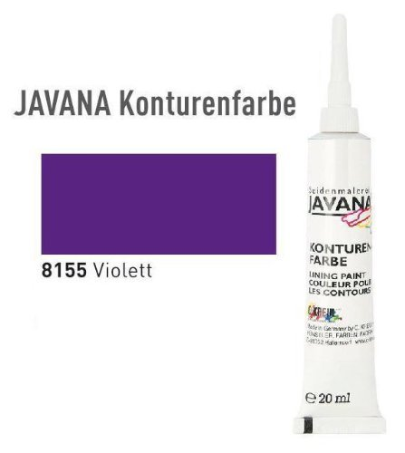 JAVANA Konturenfarbe 20 ml Violett