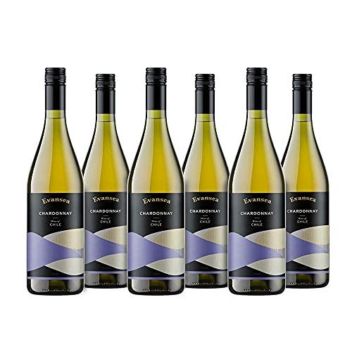 Evansea Weißwein Chardonnay trocken, Chile (6x0,75L)