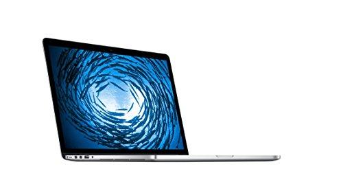Apple MacBook 15-inch Laptop (Intel core i7 2.2 GHz, 16 GB RAM, 256 GB SSD, Intel Iris Pro 5200, Mac OS X) - Silver - 2014 - MGXA2B/A - UK Keyboard (Renewed)