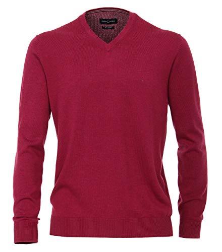 Casa Moda Pullover V-Neck Pflaume, Größe: 3XL