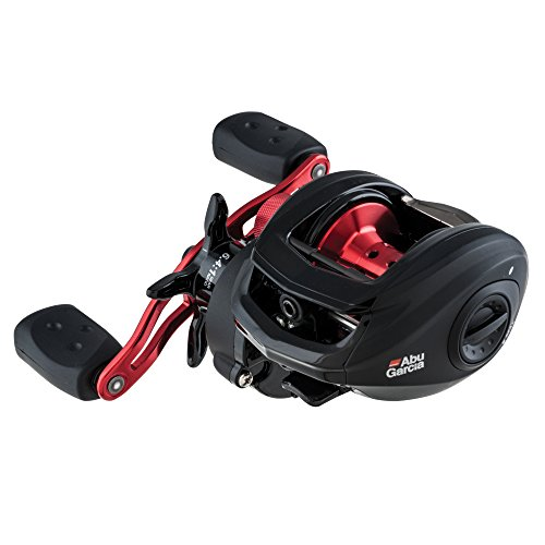 Abu Garcia BMAX3-L Black Max Low-Profile Baitcast Fishing Reel, Left Hand