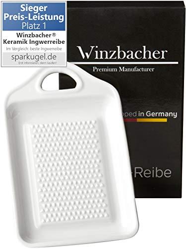 Winzbacher - Keramik Ingwerreibe I ideal für Ingwer und Knoblauch I...