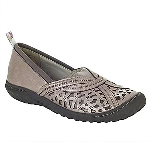 Wopam Women's Support & Breathable Flat Sandals Hollow Design Vintage Shoes Summer Supply
