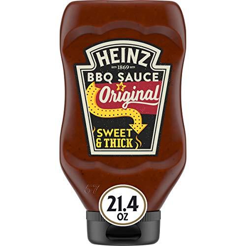 Heinz Original Sweet & Thick BBQ Sauce (6 ct Pack, 21.4 oz Bottles)