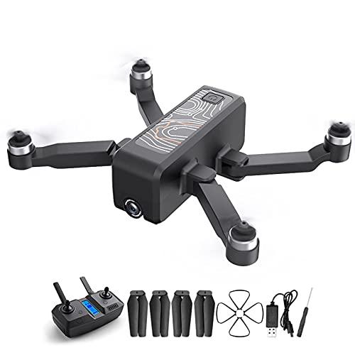 JANEFLY Dron GPS con cámara 4K, cuadricóptero RC para Adultos y niños, Retorno de una tecla, Video en Vivo 5G FPV, Cambio de Velocidad, retención de altitud