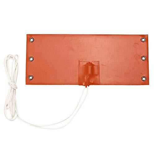 XBaofu 1pc Universalsilikon-Heizkissen über 10x23.5cm 12V 100W Mat Flexible Schnellwärmeübertragung solide...