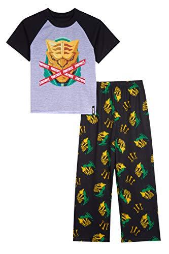 Fortnite Boys' Big 2-Piece Pajama Set, Mercury Marauder, 14