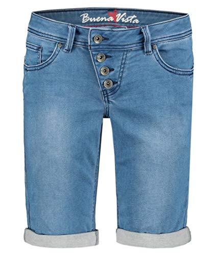 Buena Vista Damen Jeansshorts Malibu blau (51) S